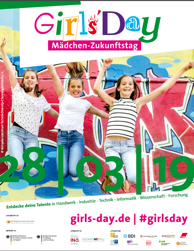 28.03.2019: Girls' and boys' day